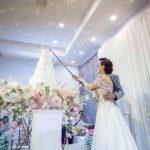 งานแต่งงานช่วงตัดเค้ก